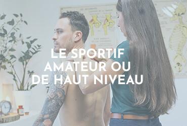 Margaux Vidal - Pour qui - Menu - Le sportif